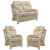 Desser Opera 2 Seater & 2 Chairs Set & Millwood Cushions