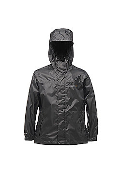 Regatta Kids Pack It Waterproof Jacket - Black