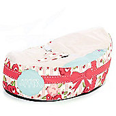 Gaga Cuddlesoft Pre-filled Baby Bean bag - Soft Chic