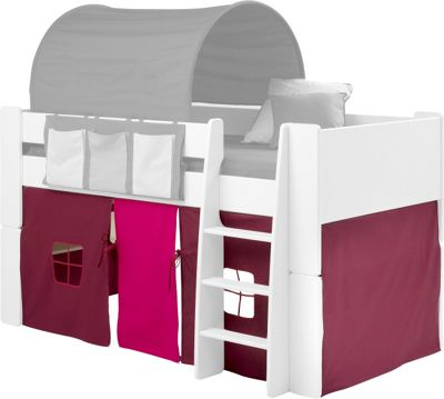 Under Bed Play Tent for Steens for Kidsu0027 Mid Sleeper Purple  sc 1 st  Tesco & Buy Under Bed Play Tent for Steens for Kidsu0027 Mid Sleeper Purple ...
