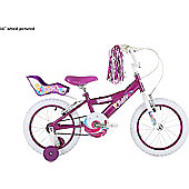 "Bumper Fairy 14"" Wheel Pavement Bike Pink Stabilisers"