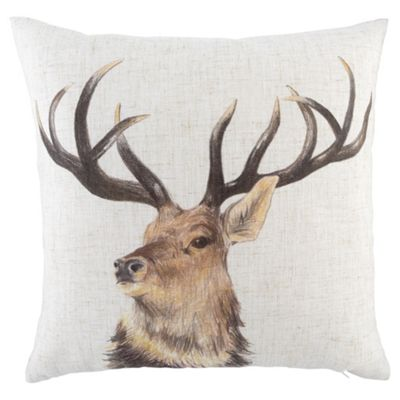 Stag Double Sided Cushion