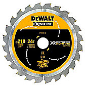 Dewalt XR Extreme Runtime Circular SAEGE Blade 210/30 mm 24 WZ/FZ DT99565 QZ Static Price for 1 Each