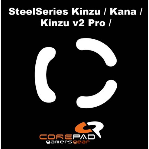 COREPAD Skatez Pro for SteelSeries Kinzu Mouse Feet