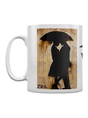 Loui Jover Rain Lovers 10oz Ceramic Mug White