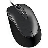 Microsoft 4500 Mouse - BlueTrack - Cable - 5 Button(s) - Black - OEM