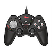 Trust GXT 24 Gamepad with turbo fire mode for rapid action PC and notebooks