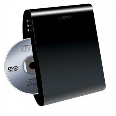 DENVER DWM-100USB Multi Region Wall Mountable DVD Player