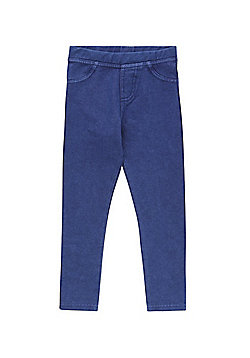 F&F Dark Wash Jeggings - Blue