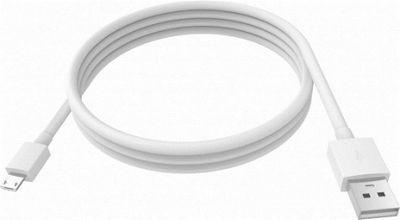 Vision TC 2MUSBM 2m USB A Micro-USB B Male White cable