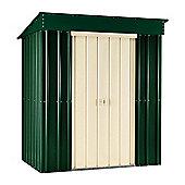 5 x 3 Premier EasyFix Heritage Green Pent Shed (1.58m x 0.92m) 5ft x 3ft