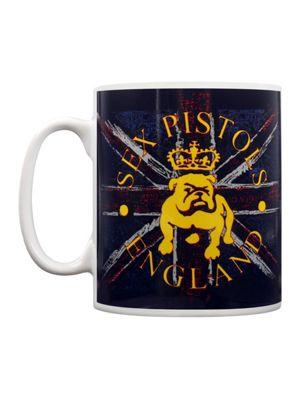 Sex Pistols The Bulldog & Flag 10oz Ceramic Mug
