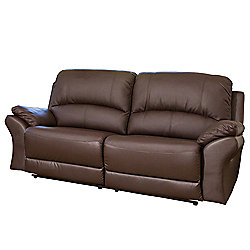 Sofa Collection Reggio Reclining Sofa - 3 Seat - Brown