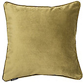 McAlister Lime Green Matt Velvet Cushion Cover - 43x43cm