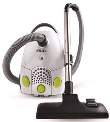 Wellco Compact Cylinder Vacuum Cleaner Bagged 1200 Watts