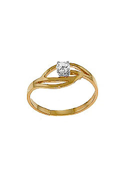 QP Jewellers 0.15ct I-3 Diamond Ring in 14K Rose Gold