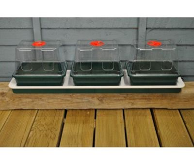 Three Top Windowsill Seed Propagator (Heated)