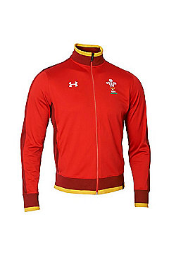 Under Armour Wales Rugby WRU Track Jacket 15/16 - Red