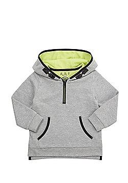 F&F Mesh Lined Hoodie - Grey