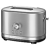 KitchenAid 2 Slot Toaster, Contour Silver
