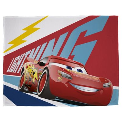 Disney Cars 3 Lightning Fleece Blanket