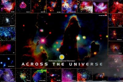 Smithsonian Institution Across The Universe Poster