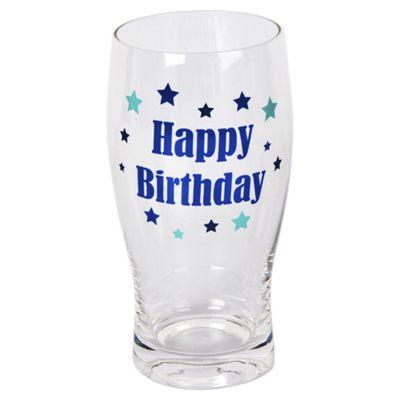 Happy Birthday Pint Glass