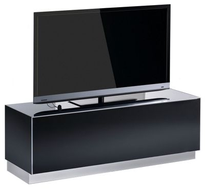 Elements Black TV Stand for up to 55 inch TVs