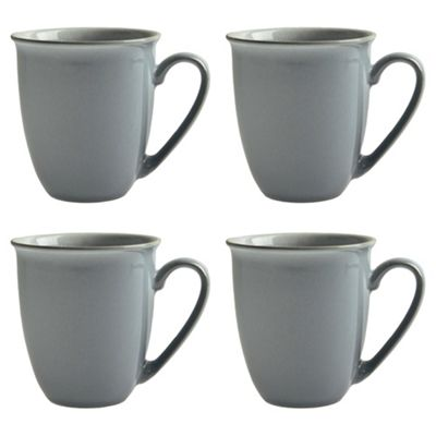 Buy Set Of 4 Denby Everyday Cool Blue Mugs From Our Mugs