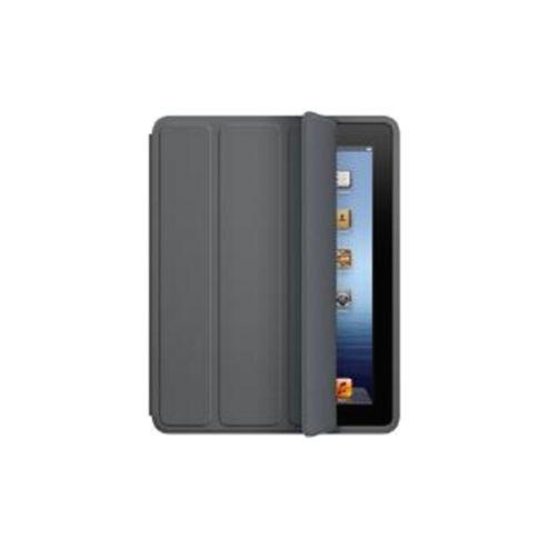 Apple Polyurethane Smart Case for iPad 2/3 (Dark Grey)