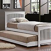 Toronto Trundle Bed - White - White