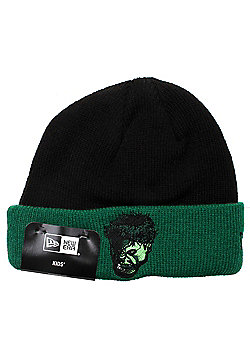 New Era Cap Co Infant Hero Cuff Beanie - Incredible Hulk - Black