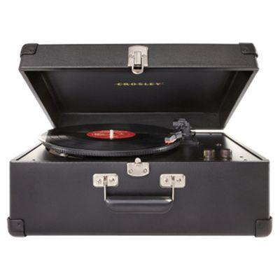 Crosley Keepsake USB Turntable Vintage Record Player - Black