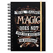 Harry Potter Magic A5 Notebook