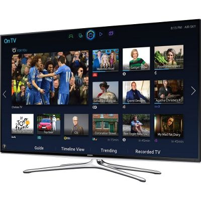 Samsung UE60H6200 60 inch 3D LED Smart TV BlK 200Hz HD Freeview HDMI WiFi
