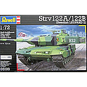 Stridsvagn 122A / 122B Swedish Leopard 2 1:72 Scale Model Kit - Hobbies