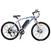 Cyclamatic Cx3 Pro Power Plus Alloy Frame Electric Bicycle / Ebike Grey/Blue