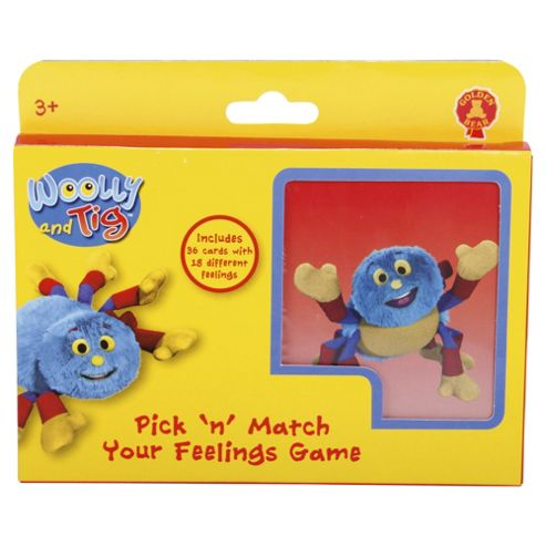 Woolly and Tig Pick 'n' Match Your Feelings Pairs Game