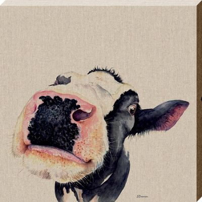 Jane Bannon Judy Canvas Print 40 x 40 x 3.8cm