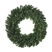 Large Traditional Christmas Wreath, 100cm