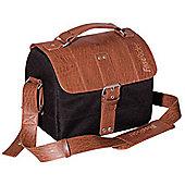 FastRider inchClassicinch Charley Handlebar Bag in Black/Brown