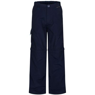 Regatta Kids Sorcer Zip Off Trousers Navy 26