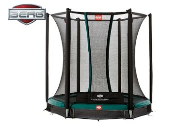 BERG InGround Talent 180 Trampoline With Safety Net Comfort