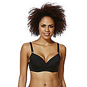 F&F Shaping Swimwear Push-Up Bikini Top - Black