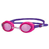 Zoggs Little Ripper Kids UV Swimming Goggles (0-6 Years) - Pink/Purple