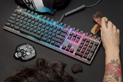 Mionix Wei Gaming RGB Cherry MX Red Mechanical Gaming Keyboard