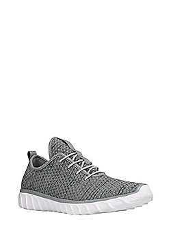 F&F Knitted Trainers - Grey