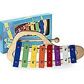 8 Key Curved Metallophone