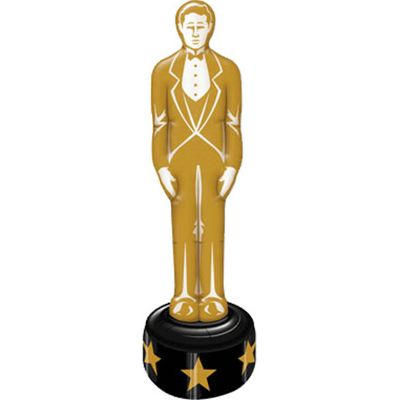 Hollywood Star Attraction Inflatable Gold Statue