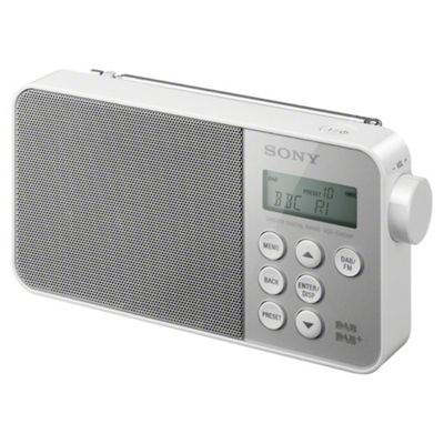 Sony XDRS40 DAB Radio White